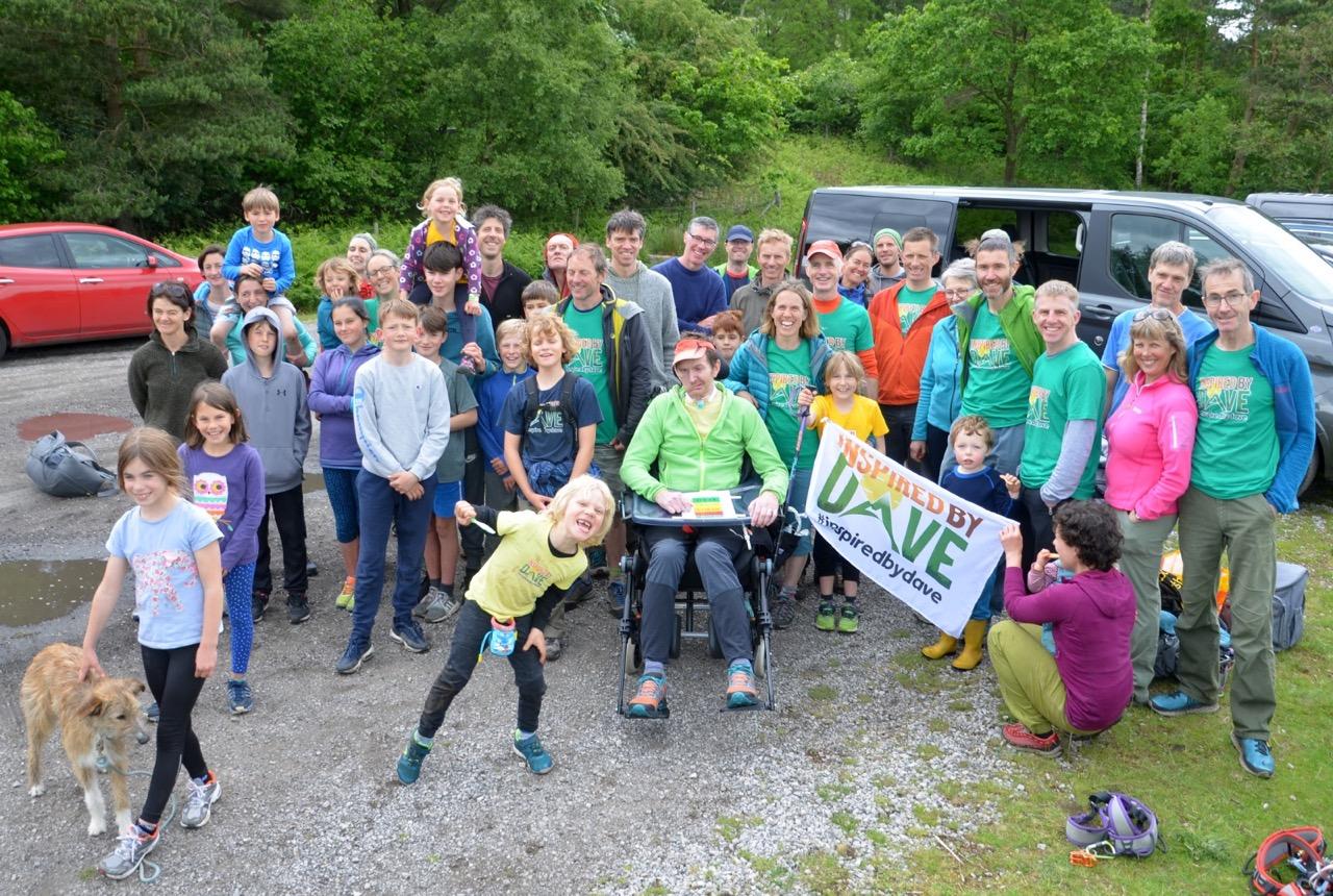 Stanage Edge – Everest Challenge Success!